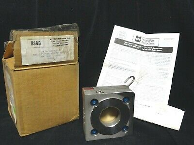 "BS&B - RUPTURE DISC HOLDER - SAFETY HEAD - P/N: SRB-7RS 316 ( 1.5"" ) NEW in BOX"