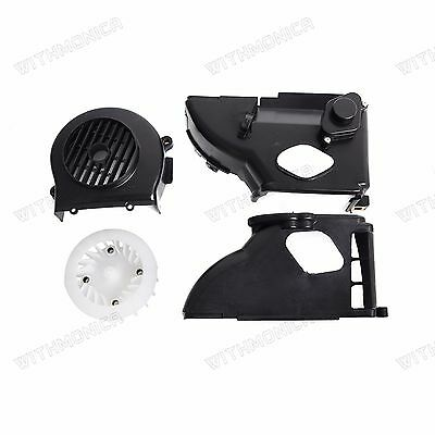 Complete Air Shroud Assembly w/fan,Cover for GY6 50cc Engine ATV,Scooter,Go Kart