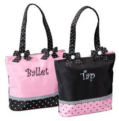Girl's Ballet/Tap Combo Dance Bag ~ One Bag Two Looks by Sassi Designs ~ # 774