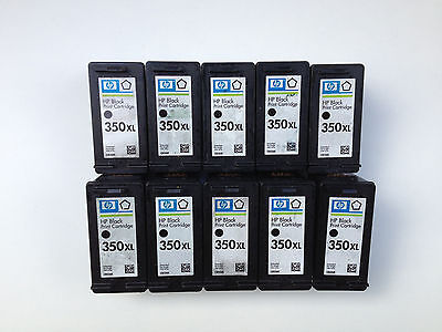 10x HP 350XL leer,leere Druckerpatronen,empty HP cartridge