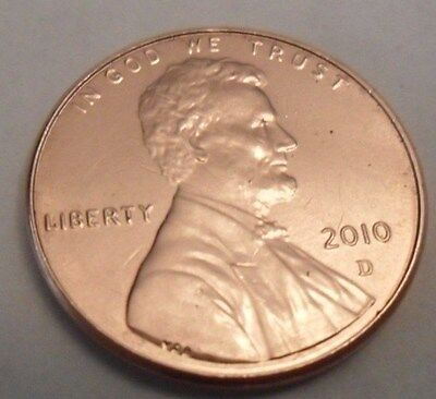 2010 D Lincoln Shield Cent / Penny  **FREE SHIPPING**