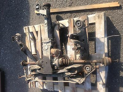 Audi 80 2.8 V6 Quattro 1992 Rear Diff And Driveshafts Transmission Assembly