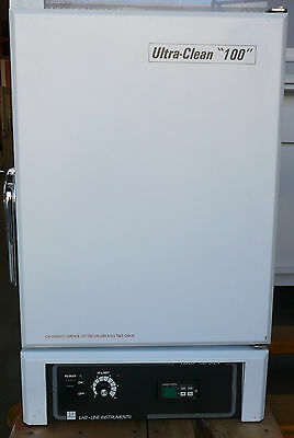 Lab-Line 3490M Ultra Clean 100 Mechanical Convection Oven 250C,  #39199 - Tested