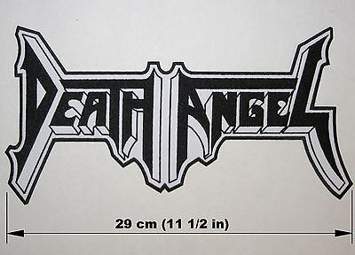 DEATH ANGEL logo BACK PATCH embroidered NEW thrash metal