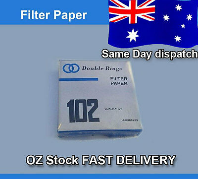 Filter Paper 90mm qualitative x 100