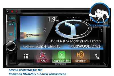 Tuff Protect Anti-glare Screen Protectors for Kenwood eXcelon DNX693S (2pcs)
