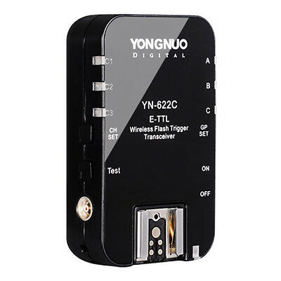 UK 1 x Yongnuo YN-622C E-TTL Wireless Flash Trigger Transceiver for Canon EOS