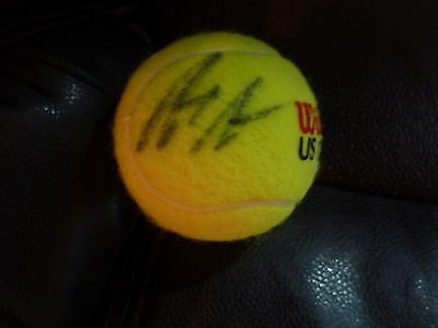 Andre Agassi Autographed Us Open Tennis Ball