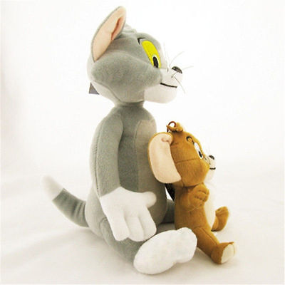 Hot Anime Cat & Mouse Cute Tom And Jerry Stuffed Animal Plush Toy Doll