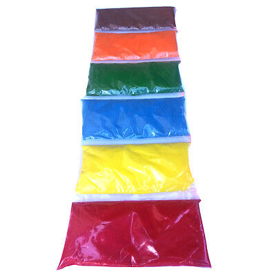 6 colour sand art kit, 2.6kg sand ,for 3-8 kids  activities, for party,gifts