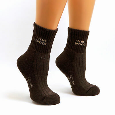 Womens Very Warm Thermal Heavy 90% Yak wool Socks | Winter Cold Weather Hiking