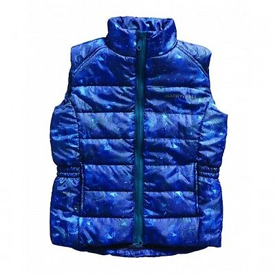 Harry Hall - Cubley Junior Gilet - Reflective Print- Water Repellant Coating