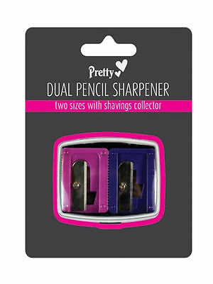 Pretty Duo Pencil Sharpener and Shaving Collector
