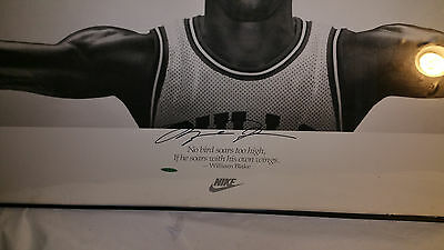 Michael Jordan Autograph Wings w Upper Deck Authenticity Hologorams serial #'s