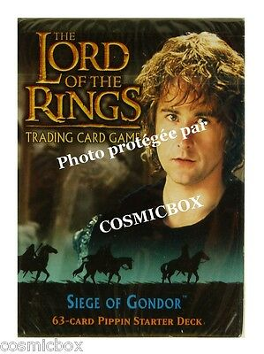 deck LORD of the RINGS starter SIEGE of GONDOR Hobbit PIPPIN 63 cards cartes NEW