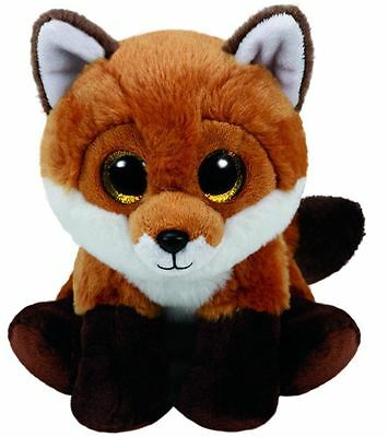 Fay Fox - Ty Beanie Baby 6 inch - Ty Plush Teddy - Brand New Soft Toy