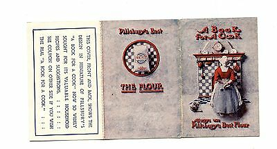 Vintage Advertising Brochure PILLSBURY'S BEST FLOUR A Book for a Cook
