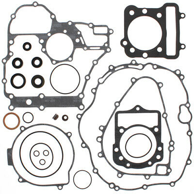 Complete Gasket Kit with Oil Seals For Kawasaki KLF300C Bayou 4X4 89-2005 300cc