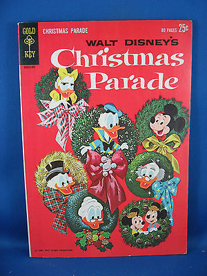 CHRISTMAS PARADE 1 Fine- Uncle Scrooge 1962