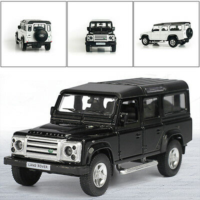"""1:36 5"""" Land Rover Defender 5inches Alloy Diecast Model Cars Pull Back Gifts Toy"""