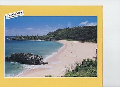 "WAIMEA BAY HALEIWA  HAWAII SCENIC GICLEE PHOTO BY PHOTOGRAPHER ON 8x10"" MATT"