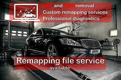 BMW E90 E91 330d 335d DPF EGR remap files to 400hp stock engine
