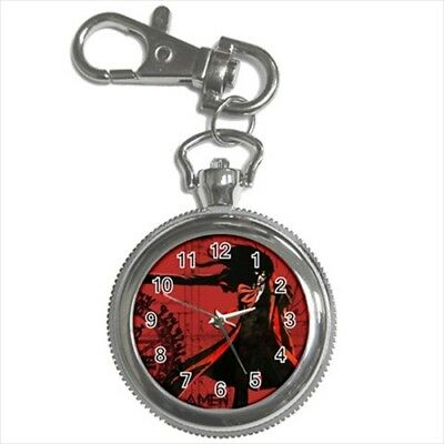 Alucard Hellsing Pocket Watch Keychain - Anime Manga