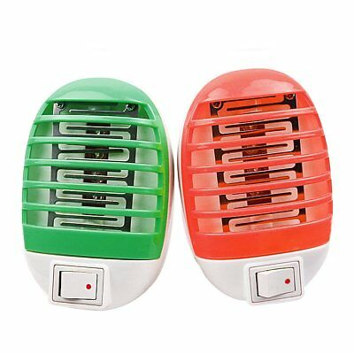 LED Electric Mosquito Fly Bug Insect Trap Zapper Killer Night Lamp USA Plug