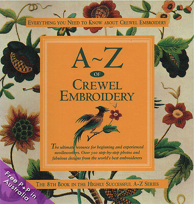 A-Z Of Crewel Embroidery by Country Bumpkin.