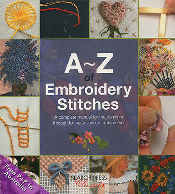 A-Z Of Embroidery Stitches by Country Bumpkin