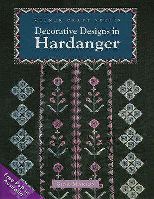 NEW Decorative Designs In Hardanger by Gina Marion