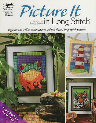 NEW Picture It In Long Stitch by Ronda Bryce