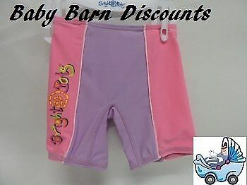 NEW Bright Bots Swimmer Shorts - Size 00 - Lilac/Pink from Baby Barn Discounts