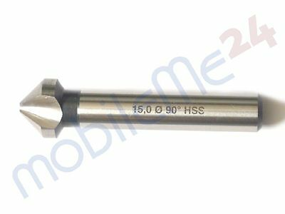Countersink HSS 15,0 mm 90° Sinker Deburring German Industrial Quality New