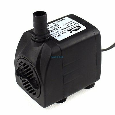 210 GPH Submersible Aquarium Water Pump Tank Powerhead Fountain Hydroponic ED