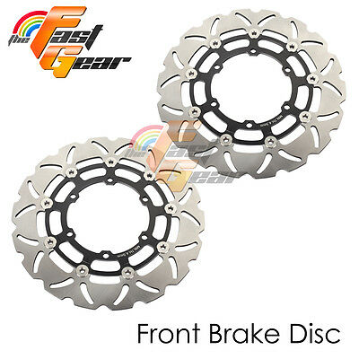 Racing Front Brake Disc Rotor x2 For BMW R 1100 RT 1995 1996 1997 1998 99 00 01