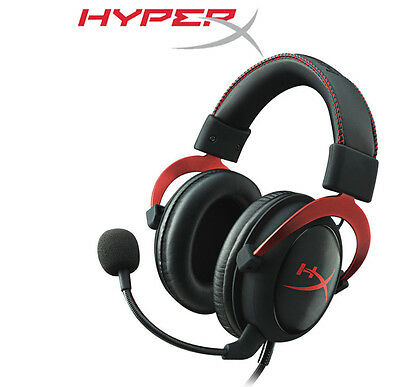 HyperX Cloud II Pro 7.1 USB Gaming Headset Noise-Cancelling Mic PC PS4 Xbox One