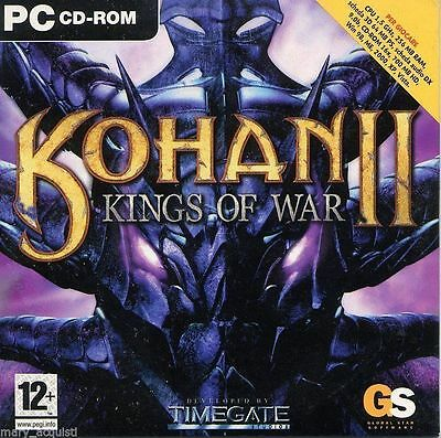 Kohan II - Kings of War - Videogame PC - Ediz. GMC - Versione cartonata