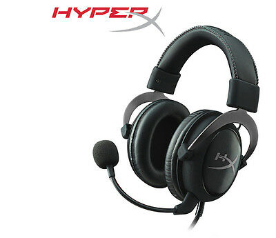 HyperX Cloud II Pro 7.1 USB Gaming Headset Gun Metal with Mic PC PS4 Xbox One