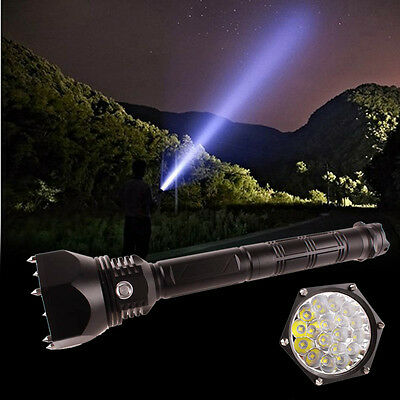 Ultra Lumineux Xml L2 Led Puissante Militaire Camping Torch Lampe Poche Lampe Ed