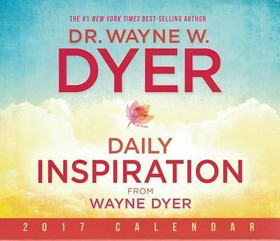 Daily Inspiration from Wayne Dyer 2017 Calendar NEW & Boxed