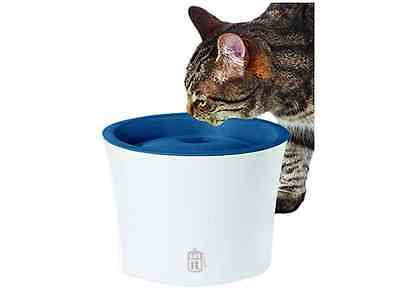 Catit Senses Water Fountain for Small Dogs and Cats, Blue
