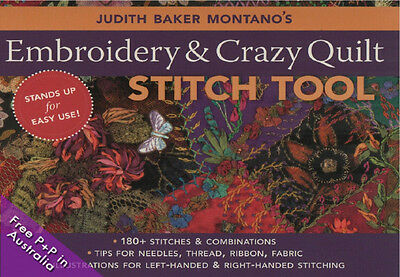 NEW Judith Baker Montano's Embroidery & Crazy Quilt Stitch Tool by Judith Baker