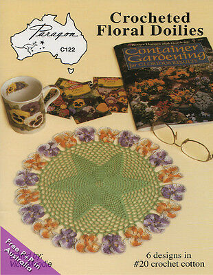 NEW Crocheted Floral Doilies by Vicki  Moodie
