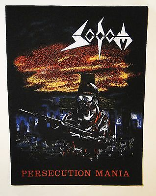 SODOM Persecution Mania BACK PATCH printed NEW thrash metal
