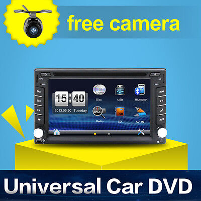 Autoradio Mit Navi Gps Navigation Touchscreen Bildschirm Dvd Cd Usb Sd Mp3 2Din