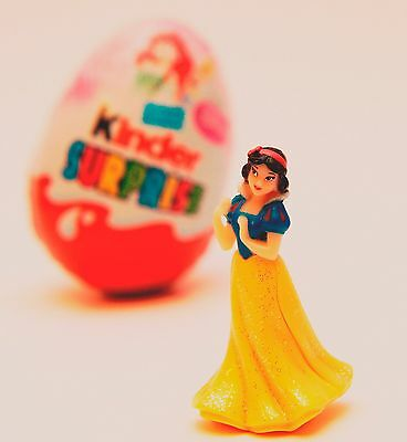 Snow White Kinder Egg Surprise Toy Disney Princess Figure Cake Topper New