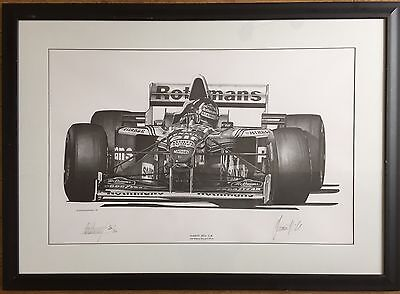 Damon Hill Limited Edition Signed Print