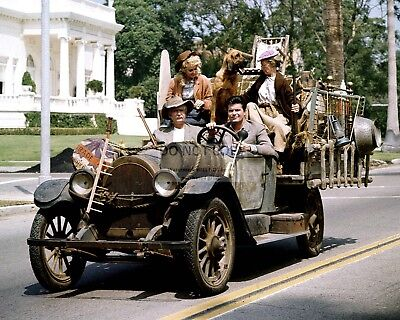 """""""The Beverly Hillbillies"""" Cast From The Tv Show - 8X10 Publicity Photo (Zy-314)"""