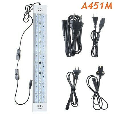 A451M 27W 45CM 5730 81SMD 3500LM LED Coral SPS LPS Aquarium Sea Reef Tank Light